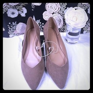 Shoes - Target Taupe Flats